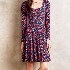 Anthropologie HD in paris a line dress size small